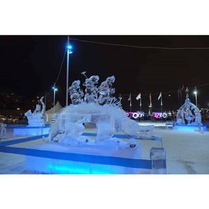Завершился рождественский турнир Кубка России по ледовой скульптуре