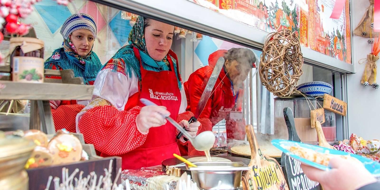 Что можно попробовать на фестивале «Московская Масленица»