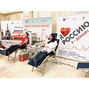 В Общественной палате России прошла донорская акция
