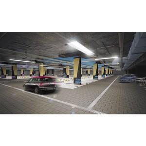 В «Ривер Парке» утвержден дизайн-проект паркинга