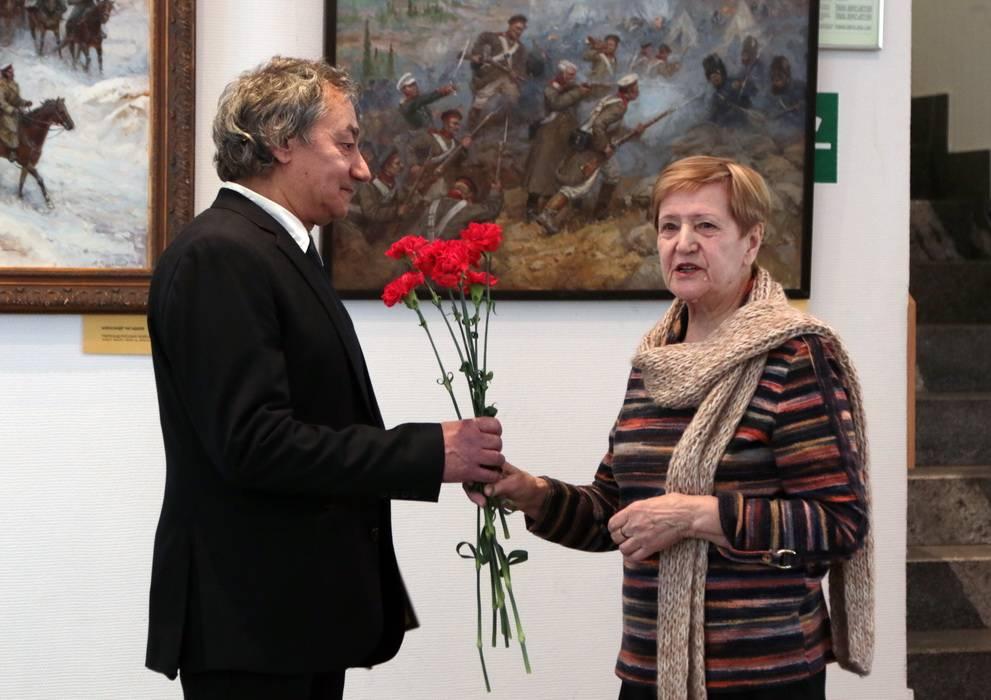В ЦТУ открылась художественная выставка Александра Чагадаева