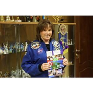 Астронавт Анна Фишер встретилась с российскими школьниками