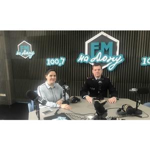 Представитель УЭБиПК по Ростовской области выступил в радиоэфире