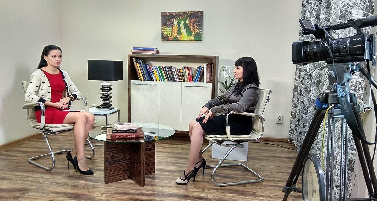 Валерия Ярославцева рассказывает в эфире телеканала СвоёТВ о Школе эпилепсии