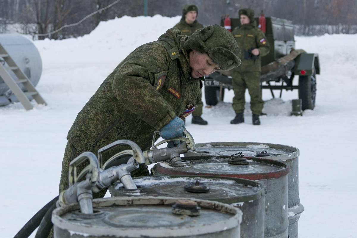 17 февраля - День Службы горючего Вооруженных Сил России