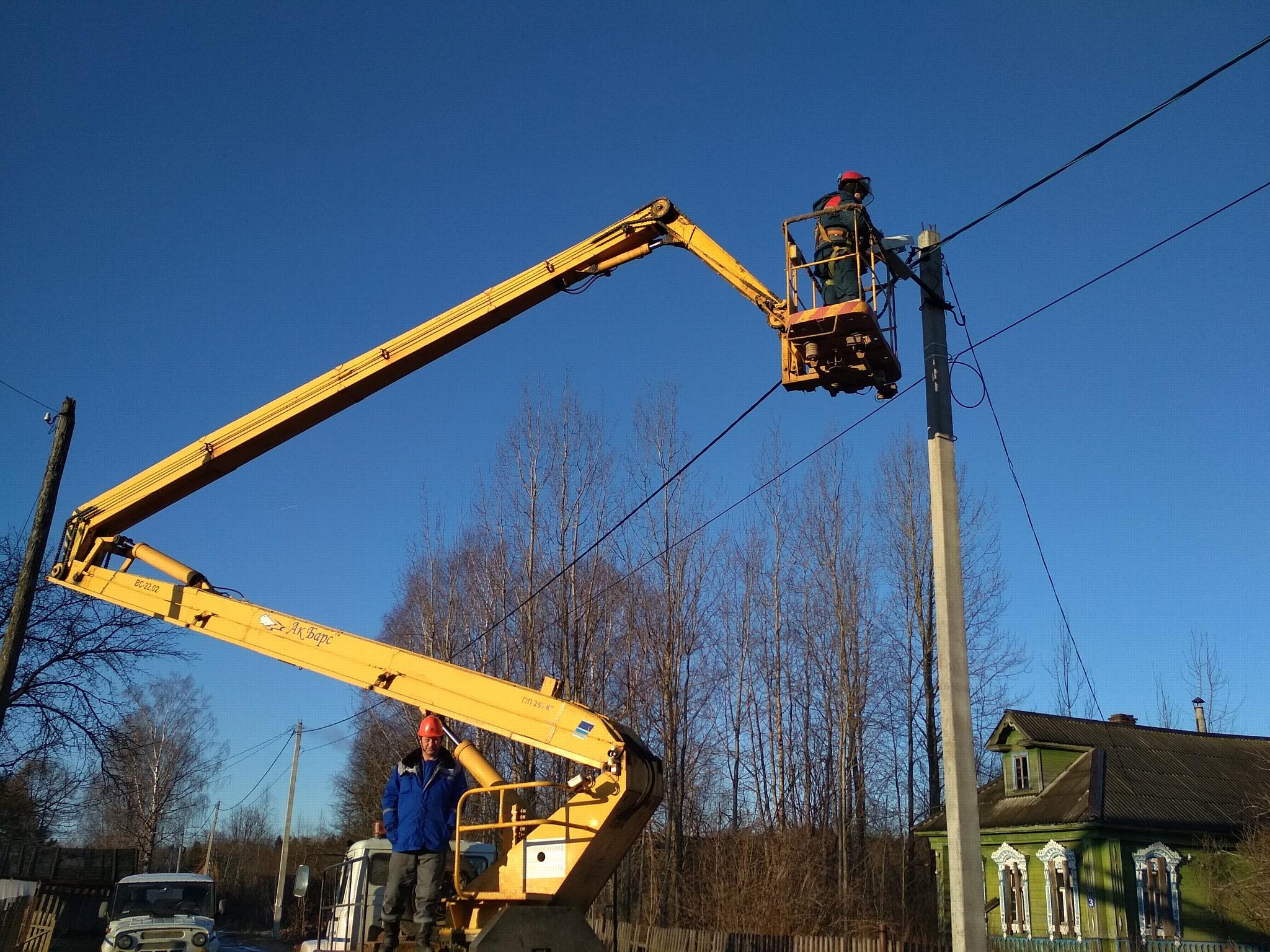 Компания «Россети Центр» содействует качеству уличного освещения