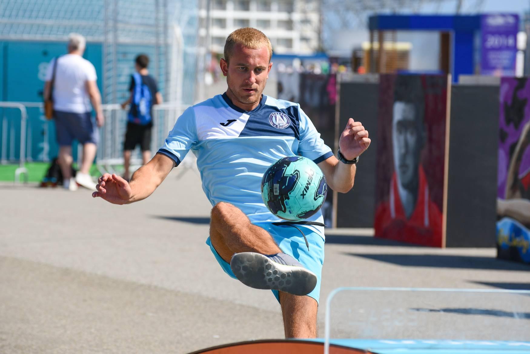 Первый в России фестиваль «Мир футбола» берет новые вершины.