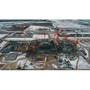 На Курской АЭС-2 выполнили второе ключевое событие 2020 года