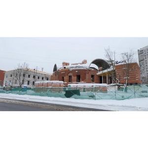 Храм в честь Живоначальной Троицы возводится на юге столицы