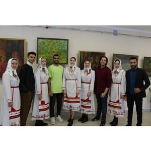 Иностранные студенты Чувашии – участники литературного фестиваля