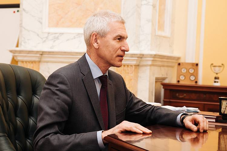 Министр спорта и президент Татарстана обсудили совместные проекты