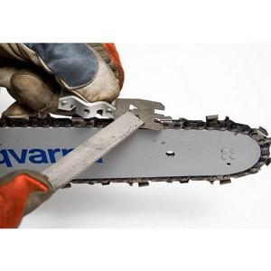 Как заточить пильную цепь?