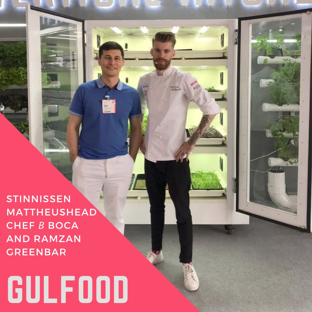 Gulfood Summit: the robot makes pancakes, green grows in a restaurant!