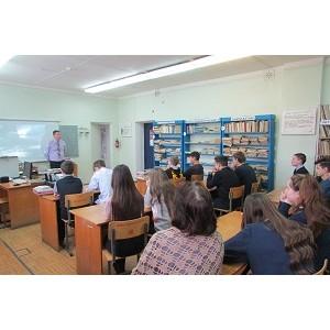 Восьмиклассники Марий Эл приняли участие в уроке электробезопасности