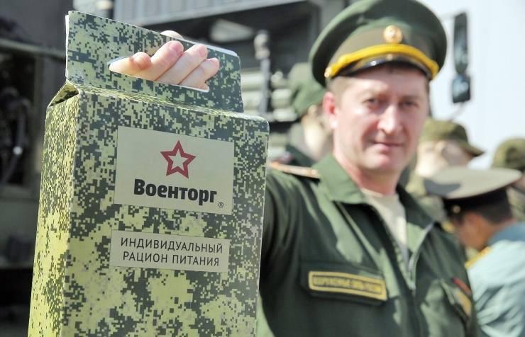 18 февраля - День продовольственной и вещевой службы ВС России