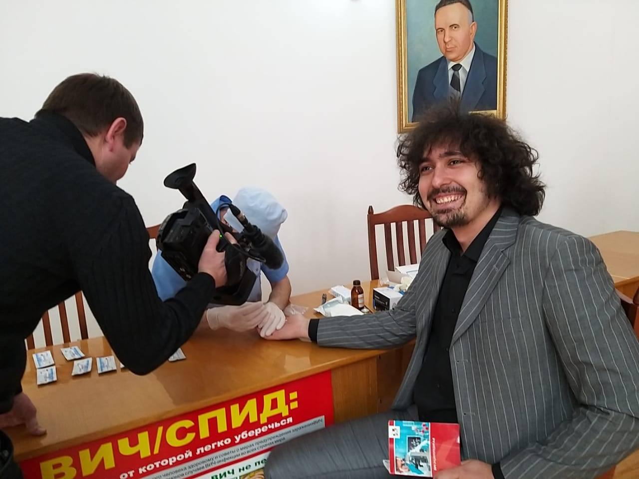 Активисты ОНФ в КБР организовали экспресс-тестирование на ВИЧ
