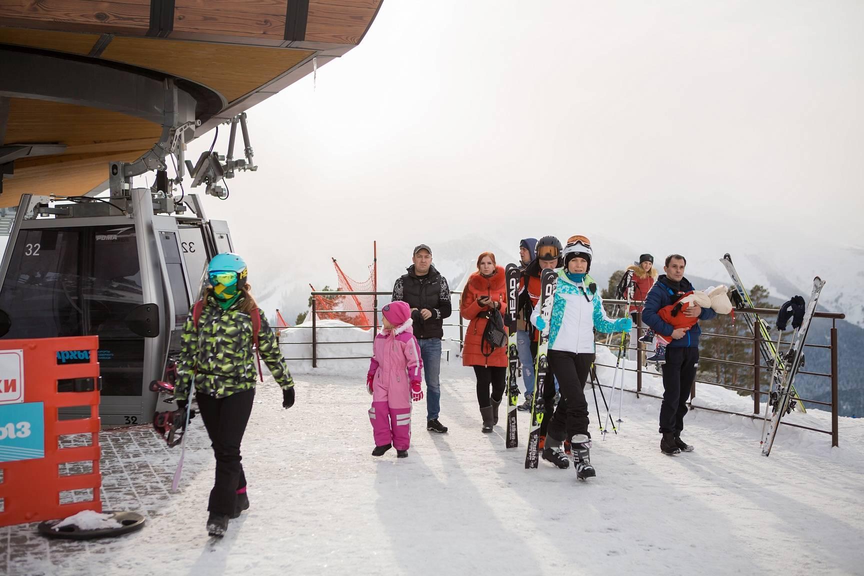 Сноупарк откроется на курорте «Архыз» в конце февраля