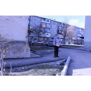 ОНФ в КБР обратил внимание на недочеты благоустройства дворов