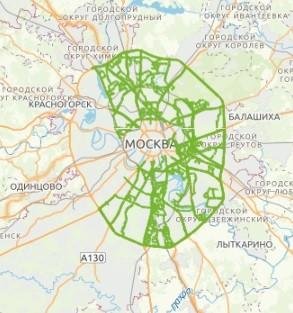 """На геопортале """"Rumap"""" доступна информация о грузовом каркасе Москвы"""