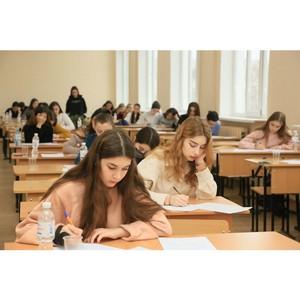 Любители словесности приняли участие в олимпиаде по русскому языку