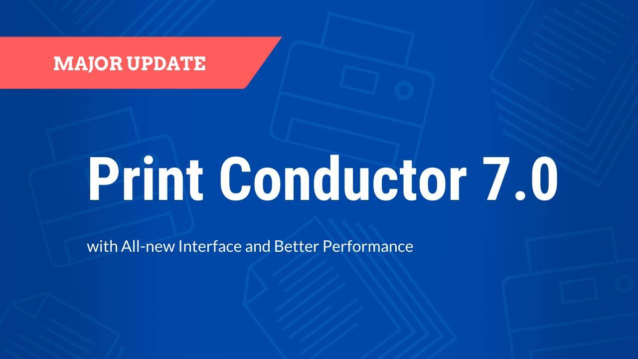 Print Conductor 7.0 fCoder печатает несколько страниц на одном листе