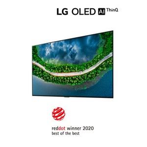 Oled телевизоры LG удостоены высшей награды Red Dot Design Awards