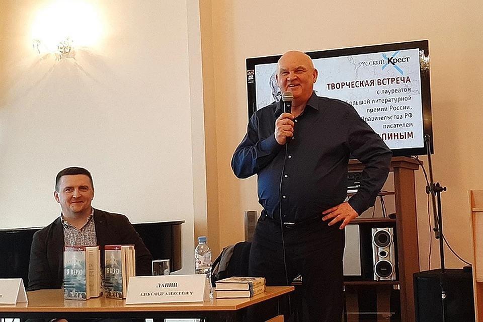 А. Лапин рассказал о планах написать книгу «Суперхан» о Назарбаеве