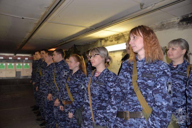 Свердловская вневедомственная охрана приняла участие в соревнованиях
