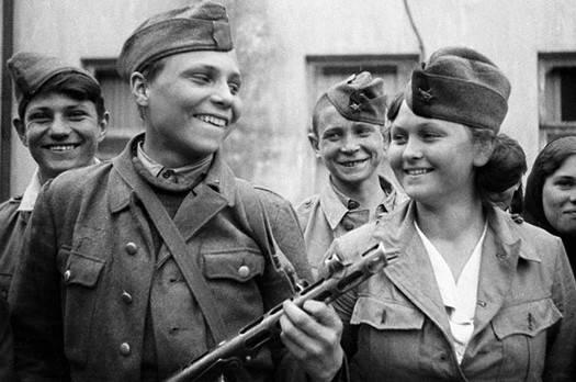 . Испанские добровольцы - крымские партизаны-диверсанты.