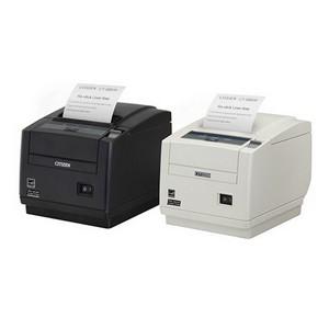 POS-принтер Citizen с печатью многоразовых самоклеящихся этикеток