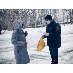 Волонтёры акции #мывместе помогают пожилым и маломобильным камчатцам