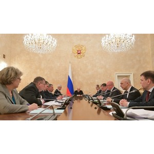 Оперативное совещание Михаила Мишустина с вице-премьерами