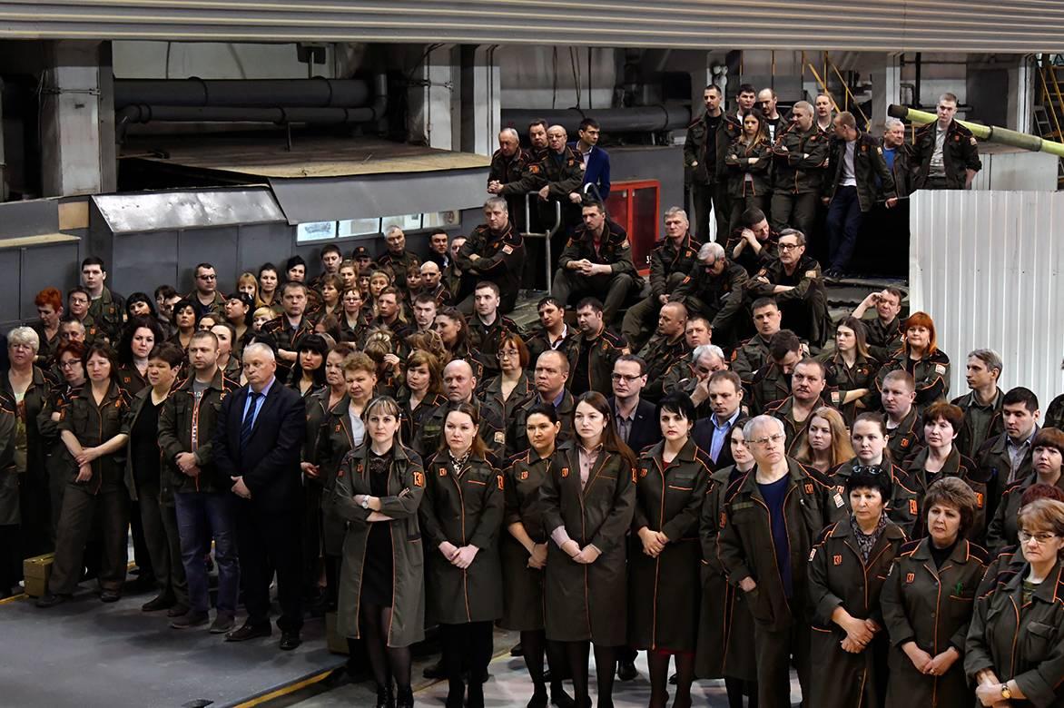 На Уралвагонзаводе почтили память Добровольческого танкового корпуса