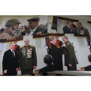 ОНФ в Волгограде навещает ветеранов Великой Отечественной войны