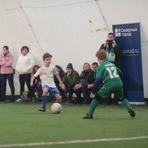 В Невском районе Петербурга прошел детский футбольный турнир