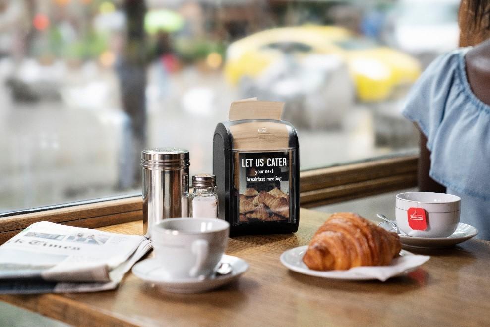 Tork Xpressnap Fit повысит эффективность пространства ресторанов