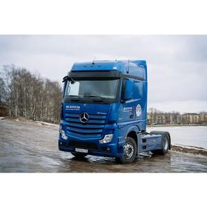 «Балтийский лизинг» и Mercedes презентовали инновационный тягач бренда