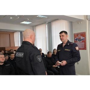 Свердловский СОБР отметил 27-ю годовщину со дня образования
