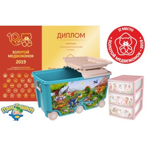 Второе место премии «Золотой медвежонок» - у товаров «Пластишка»