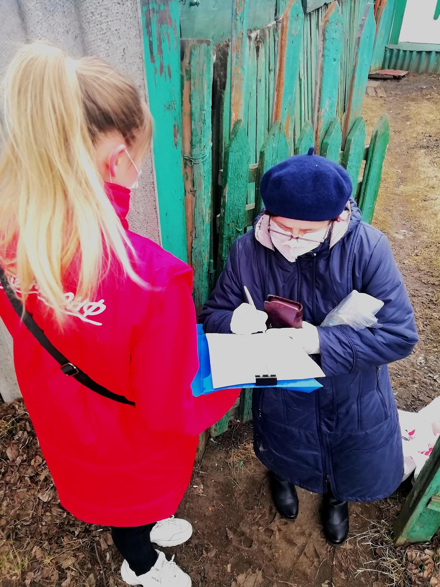 В Мордовии одиноким пенсионерам помогает «Молодёжка ОНФ»