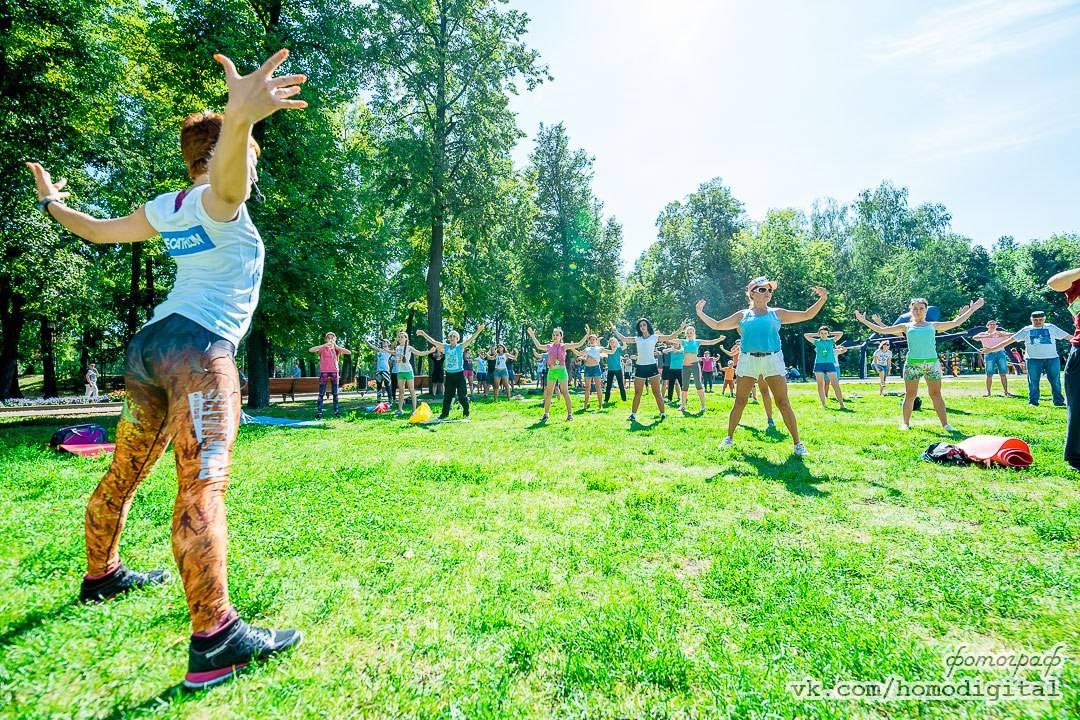 Социально-спортивному движению «Зеленый фитнес» 5 лет!