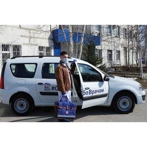 Детской поликлинике Нижневартовска подарили новый автомобиль