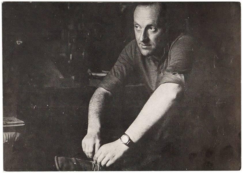 Лот 38. Памятная открытка вечера Josef Brodskij от 24 июня 1989 г.