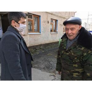 Марийские энергетики-волонтеры посетили ветеранов