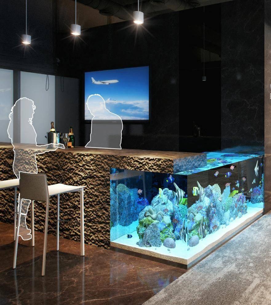 Любые аквариумы не рекомендуется размещать рядом с окном