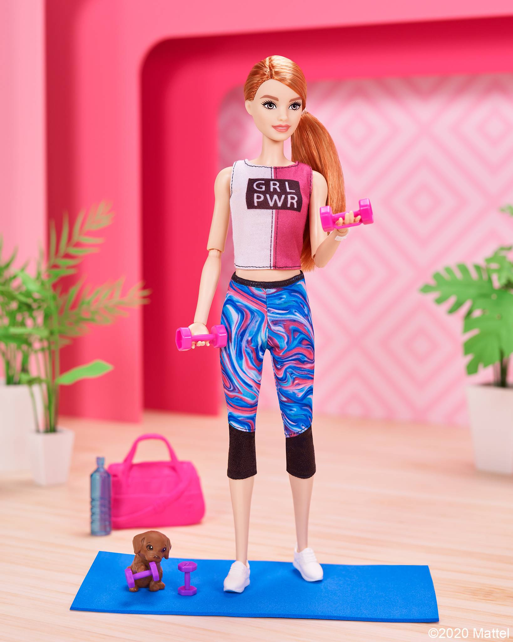 Barbie выпустит линейку кукол, которые научат заботиться о себе