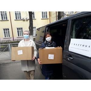 «Балтика» помогает одиноким престарелым Тульской области