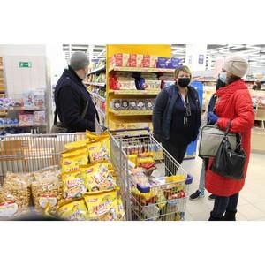 Многодетным семьям Мордовии передали продуктовые наборы