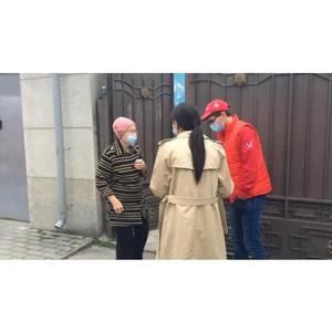 В КБР активисты ОНФ и «волонтеры-медики» помогают пожилым гражданам