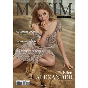 Ellen Alexander на обложке Maxim France